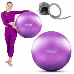 Piłka gimnastyczna 65 cm do ćwiczeń rehabilitacyjna z pompką w zestawie