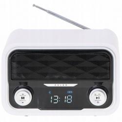 Radio kuchenne sieciowo-bateryjne przenośne z Bluetooth USB SD FM Adler AD 1185