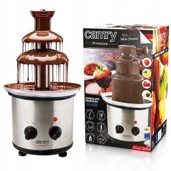 Czekoladowa fontanna Camry CR 4488 do czekolady INOX 3 poziomy 40cm