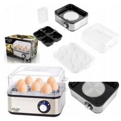 Jajowar automatytczny do gotowania jajek miękko średnio twardo na 8 jaj Adler AD 4486