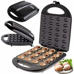 Opiekacz do wypiekania ciasteczek orzeszków 24 sztuki Mesko MS 3041