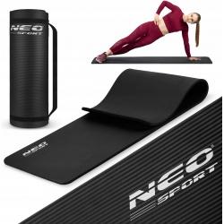 Mata do ćwiczeń fitness Joga doskonała amortyzacja wysoka jakość wykonania