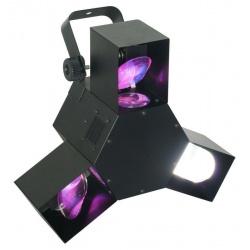 Efekt świetlny BeamZ Triple Flex Centre LED Pro imprezowe oświetlenie stroboskop