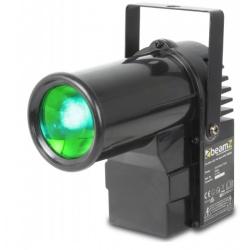 Reflektor oświetlenie kuli PINSPOT PS10W LED 4 kolory światła DMX BeamZ