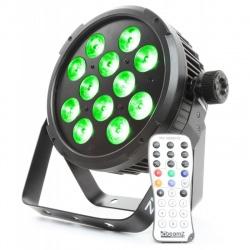 Reflektor wysokiej mocy LED Flat PAR BeamZ BT310 DMX pilot aktywacja dźwiękiem