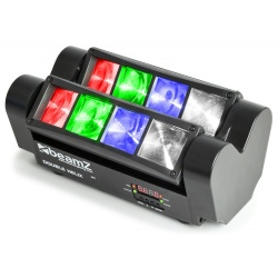 Podwójny reflektor LED MHL820 BeamZ Helix oświetlenie sceniczne stroboskop