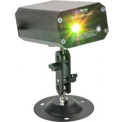 Laser kropkujący oświetlenie imprezowe Party MINI FIREFLY z efektem Gobo