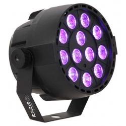 Reflektor ultrafioletowy LED PAR Ibiza PAR-MINI-UV oświetlenie UV DMX