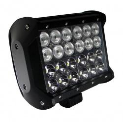 Halogen panel LED marki NOXON 24 x 3 W LED moc 73W kąt świecenia COMBO