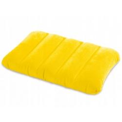 Rewelacyjna poduszka dmuchana 43 x 28 x 9 cm INTEX 68676 zółta niebieska