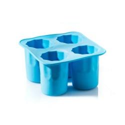 Kieliszki lodowe foremka na 4 kielony do wódki chłodzące kieliszki z lodu