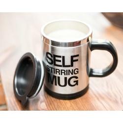 Leniwy kubek termiczny samomieszający na baterie sam miesza napoje kawę