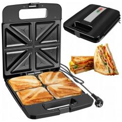 Duży toster opiekacz do robienia kanapek 4 tostów jednocześnie sandwich 1400W
