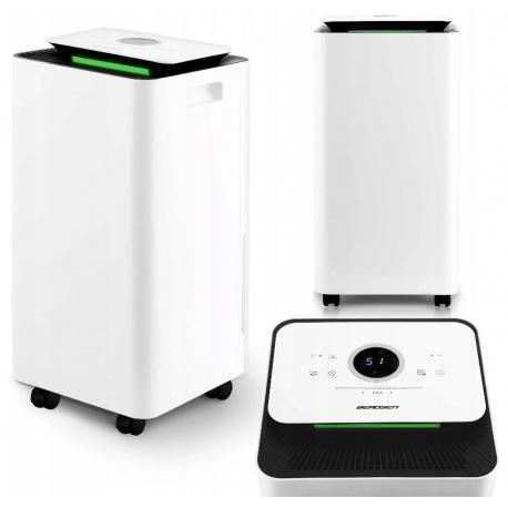 Kompresorowy osuszacz powietrza BD-521 wydajność 12L/24H antybakteryjny filtr