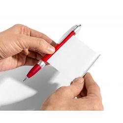 Długopis ściąga z notesem ze ściągą chowaną karteczką do szkoły na studia