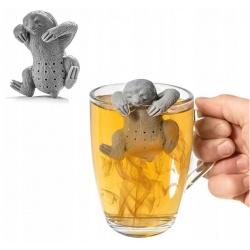 Zaparzacz do herbaty LENIWIEC silikonowy wyjmowane sitko bez fusów