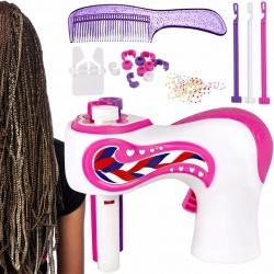 Zaplatacz do warkoczyków maszynka do zaplatania włosów Twister na baterie