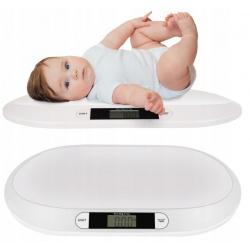 Waga elektroniczna dla niemowląt z wyświetlaczem bateryjna przenośna