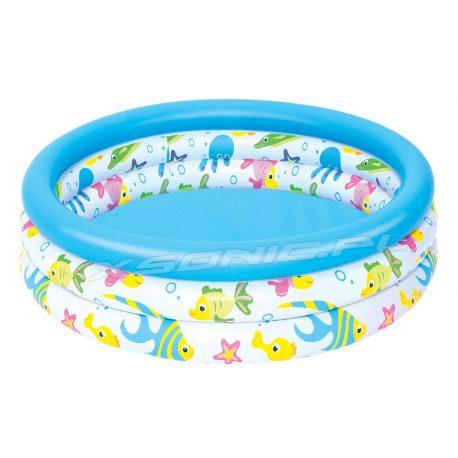 Mały basenik dla dzieci Morze 102 x 25 cm Bestway 51008 okrągły