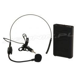 Mikrofon nagłowny z bodypackiem częstotliwość 863 MHz PORTUHF-HEAD