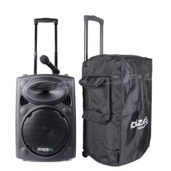 Mobilna kolumna aktywna Ibiza Sound PORT12UHF-BT 700W USB Bluetooth tuner FM