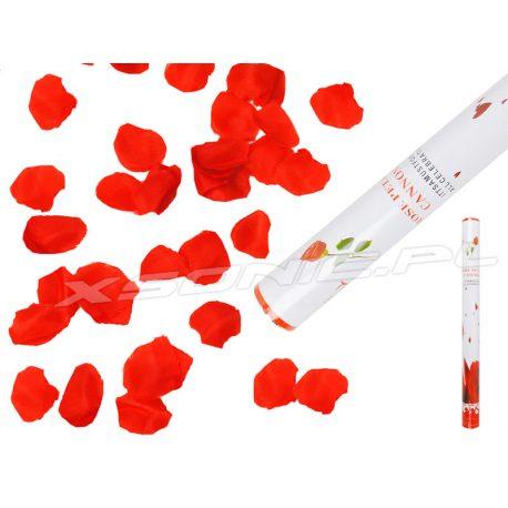 Wystrzałowa tuba strzelające płatki róż konfetti 60cm armatka