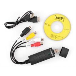 Video Grabber do zgrywania filmów z kaset wideo zgrywaj filmy z VHS na komputer USB złącze