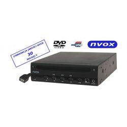 Samochodowy odtwarzacz DVD - NVOX - wielkość 3/4 DIN - złącze USB, zewnętrzny czujnik podczerwieni IR