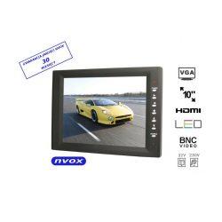Monitor samochodowy do komputerów CAR PC wyposażny w ekran o przekątnej 10 cali wejście VGA HDMI