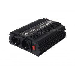 Przetwornica samochodowa z 12V/230V - VOLT POLSKA - 1000W/700W - sinus modyfikowany