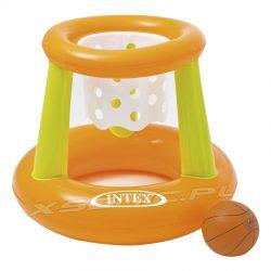 Zestaw do koszykówki wodnej 62 x 56 x 83 cm INTEX dmuchana piłka i kosz