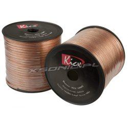 Przewód głośnikowy Kicx 14 AWG miedziany 2,0 mm² rolka 100m