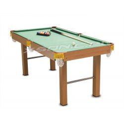 Duży stół do gry w bilard Neosport bilardowy z kompletem akcesoriów 164 x 84 x 74,5 cm
