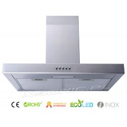 Okap kuchenny ścienny 60 cm Berdsen T1 filtr w zestawie LED regulowana maskownica