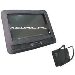 Pokrowiec na monitor LCD lub przenośny odtwarzacz DVD o przekątnej ekranu 9 cali NVOX paski mocujące na zagłówek