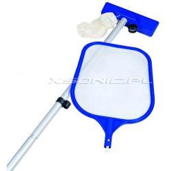 Zestaw do czyszczenia basenów odkurzacz siatka do zabrudzeń kij teleskopowy Bestway 58013