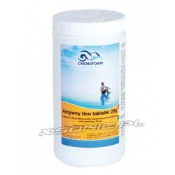 Aktywny tlen w tabletkach do dezynfekcji wody basenowej 1kg tabletki 20g