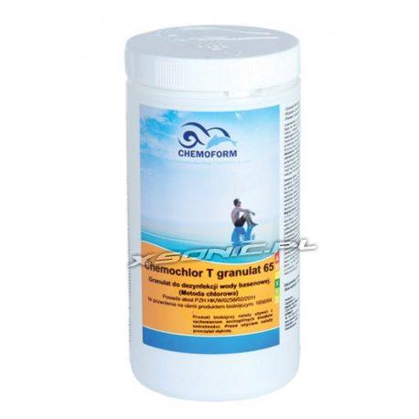 Chemochlor 1kg - preparat do dezynfekcji i chlorowania szokowego wody basenowej