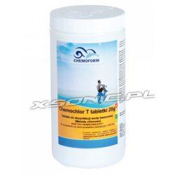 Chemochlor 1kg preparat do stałej dezynfekcji wody basenowej T Tabletki 20g