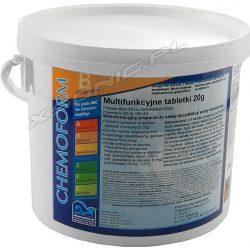 Chemochlor 3kg tabletki multifunkcyjne preparat do stałej dezynfekcji wody basenowej