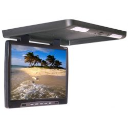 Monitor podwieszany z matrycą LED typu BRIGHT VIEW o przekątnej 15 cali multimedialny odtwarzacz plików SD
