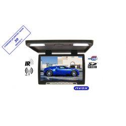 Monitor podwieszany z matrycą LED typu Glare o przekątnej 17 cali multimedialny odtwarzacz plików SD USB IR