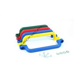 Duże rączki na plac zabaw wymiary 330 mm x 70 mm zestaw dwóch sztuk uchwyty do wchodzenia