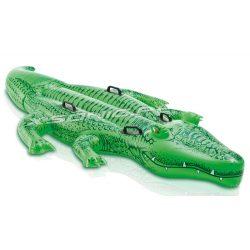 Aligator dmuchany do pływania 203 x 114 cm mocne uchwyty