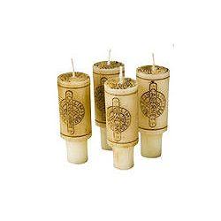Świeczka korek do wina 4 sztuki korki w zestawie