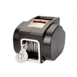 Przenośna wyciągarka elektryczna z uchwytem do zawieszenia na haku samochodowym - moc 5000 lbs - marki DRAGON WINCH