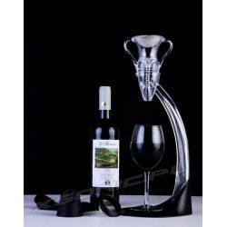 Aerator do wina Angel deluxe ze szkła akrylowego sitko ze stali szlachetnej