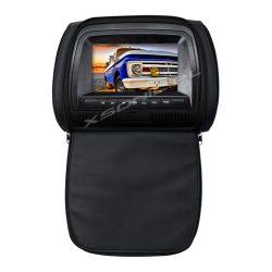 Monitor samochodowy w zagłówku 7 cali LCD HD marki XBS z DVD GRY IR FM SD MMC MS USB