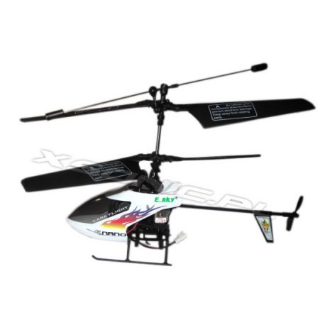 Helikopter Nano Hugines 2,4 GHz RTF z aparaturą łatwość sterowania oraz poprawny lot