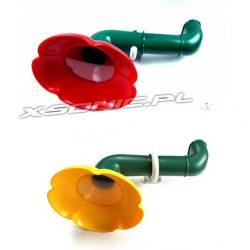 Peryskop obserwacyjny obracany w kształcie kwiatka na plac zabaw 2 kolory